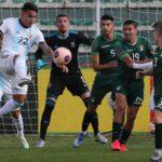 ARGENTINA VENCIÓ A BOLIVIA 2 A 1